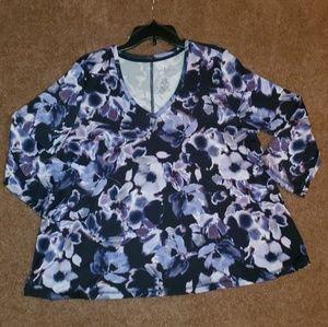 Ladies floral top